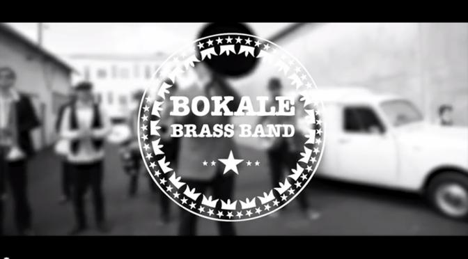 bokalé brass band, fanfare new orleans, diffusé chez contre courant prod (Toulouse)