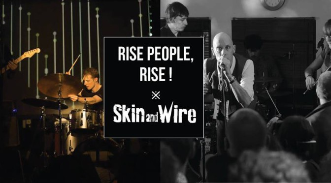 Skin and wire rize peaple rize